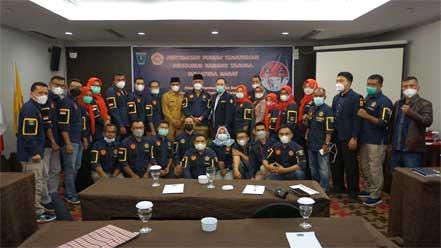 Pertemuan Forum Komunikasi Pengurus Karang Taruna Provinsi Sumatera Barat