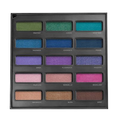 Urban Spectrum eyeshadow palette da Urban Decay