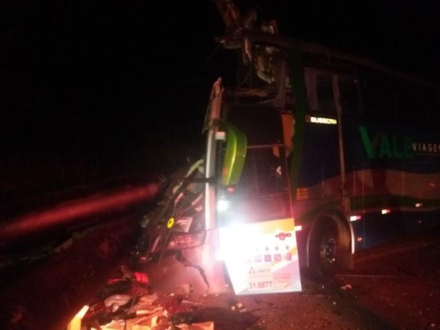 Acidente na BR 116 em Valadares