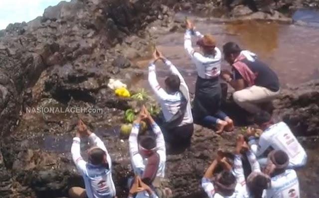 Heboh, Benarkah Ada Ritual Penyembahan di Wisata Tuan Tapa Aceh Selatan?