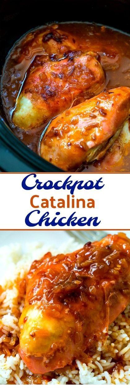 Crockpot Catalina Chicken
