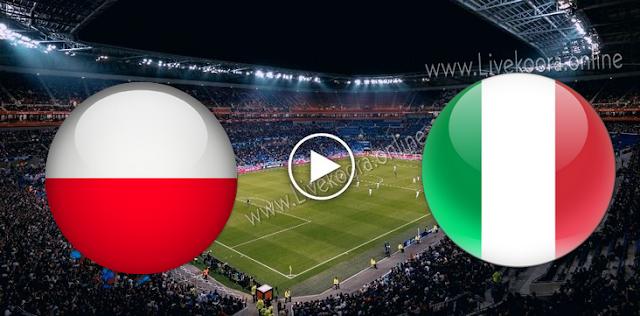 موعد مباراة بولندا وايطاليا بث مباشر بتاريخ 11-10-2020 دوري الأمم الأوروبية