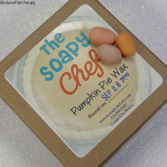 The Soapy Chef Pumpkin Pie