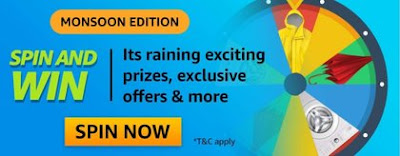 Amazon Monsoon Edition Spin and Win Quiz Answer