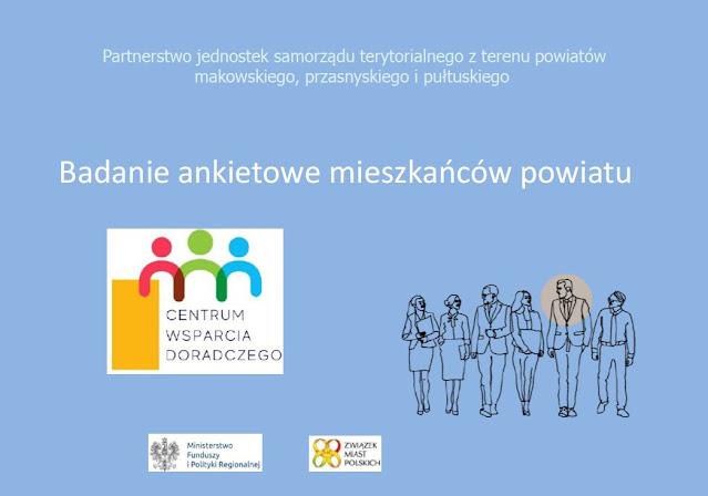Plakat o badaniu ankietowym