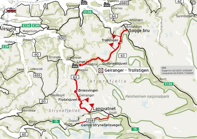 Rota Cênica Geiranger - Trollstigen