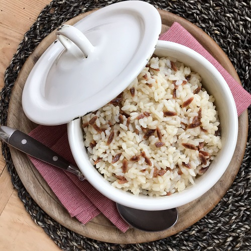 türkischer Reis ~ Pirinç Pilavı