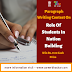 Paragraph Writing Contest on Role of Students in Nation-building