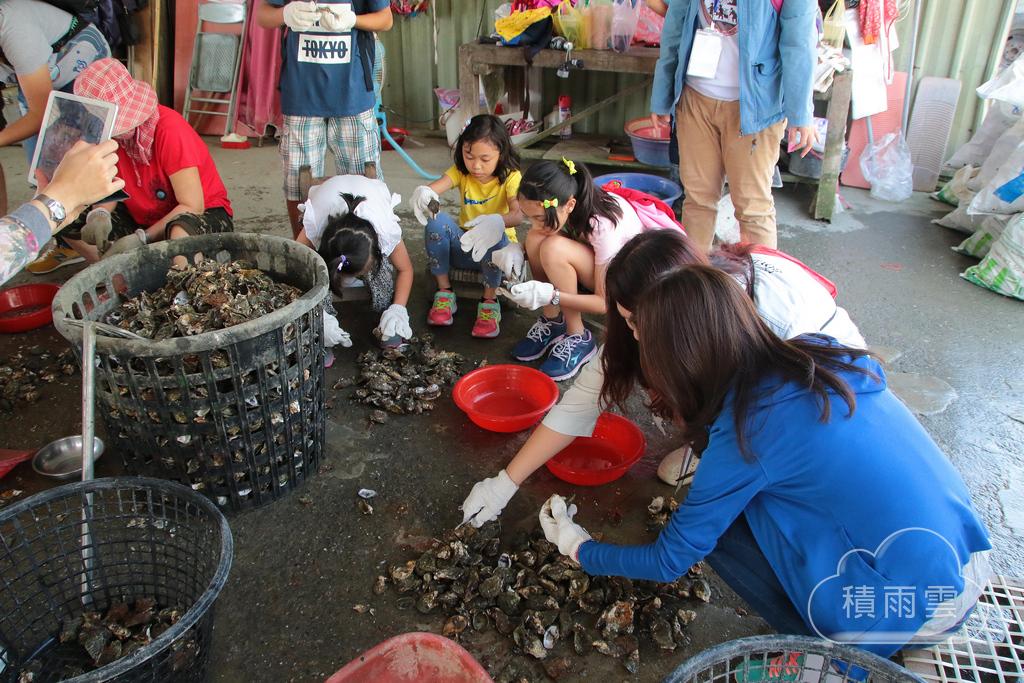 台南三股旅歷蚵的故事農漁村體驗