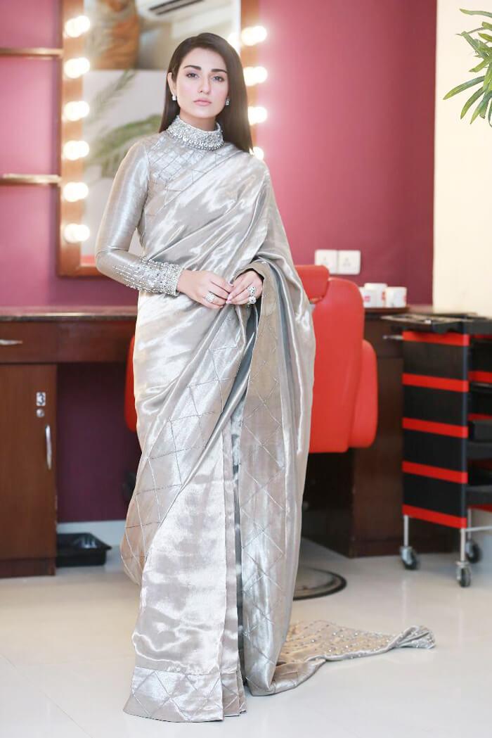 Saree for Bride Sister for Pakistani Weddings