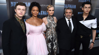 g Rihanna Appears In Valerian And The City Of A Thousand Planets Movie With Seductive Dance Scene