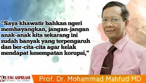 Hari Anti Korupsi Dunia, Mahfud MD Ungkap IPK di Indonesia Masih Buruk