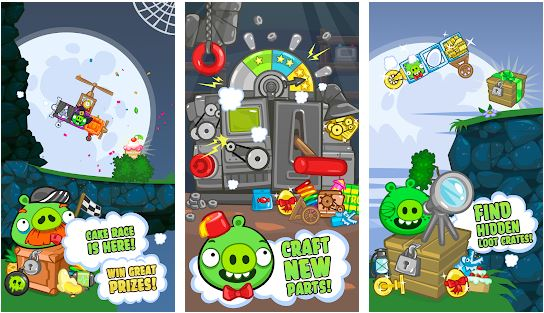 download BAD PIGGIES MOD APK 2.3.6 Unlimited Money Versi Terbaru 2020 3