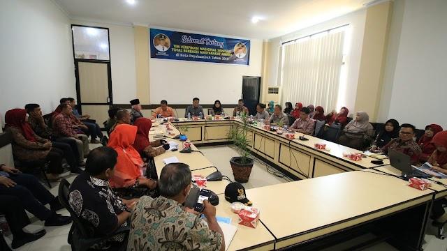 Tim Verifikasi Nasional Sanitasi Total Berbasis Masyarakat ( STBM ) Sambangi Payakumbuh