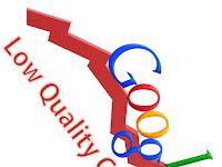 Dampak Konten Tidak Berkualitas/Low Quality Terhadap SEO - Algoritma Google 2018