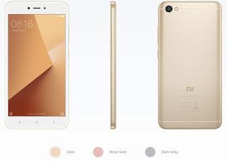 """pesifikasi Redmi Note 5A : Layar besar 5,5"""" (13,5cm) Corning® Gorilla® Glass. 13MP kamera dengan PDAF  Quad-core prosesor Snapdragon 425  Kapasitas baterai besar 3080mAh, (11 hari standby main game 16 jam, dan waktu telepon 35 jam). Main game sangat lancar  Super ramping body dengan layar besar,  Berat hanya 150g  36 profil smart Beautify Selfie yang memukau  Dual SIM + expandable microSD Hingga 128GB penyimpanan dan sudah mendukung jaringa 4g MIUI 9 Secepat kilat"""