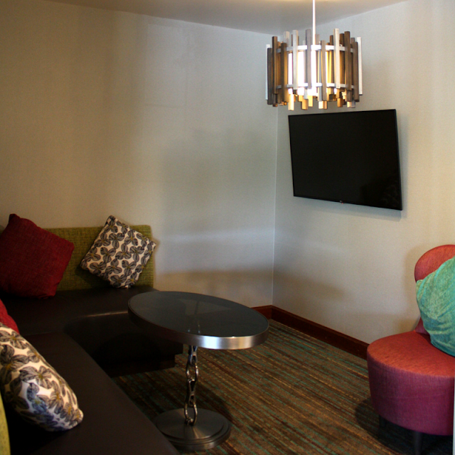 Television Nook at The Residence Inn Minneapolis-St.Paul/Roseville