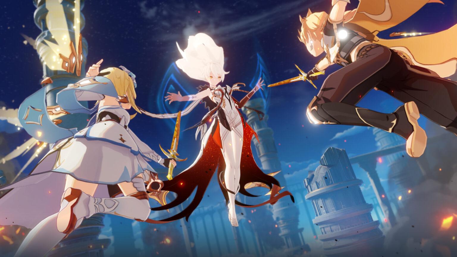 Genshin Impact será lançado para PS4 em 28 de setembro - GameBlast