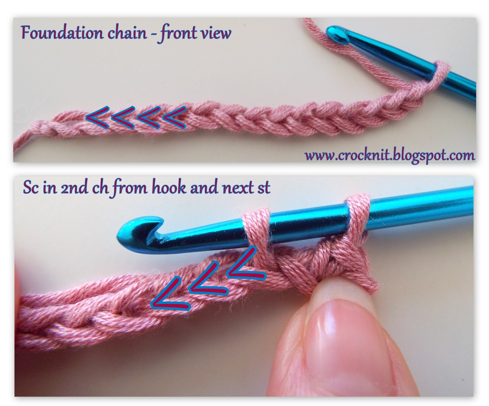 Microcknit Creations How To Crochet In Back Bump Tutorial