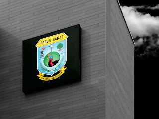 desain papan nama logo provinsi papua barat - kanalmu