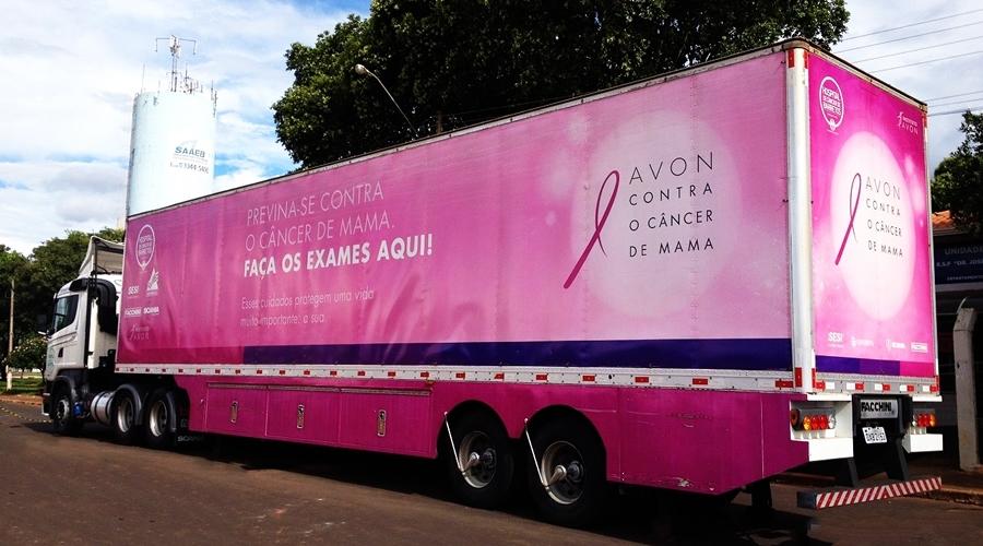 Carreta de Prevenção ao Câncer estará em Bebedouro entre 11 de março a 27 de maio