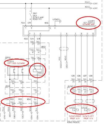 Схема работы джойстика, драйвера и клапанов