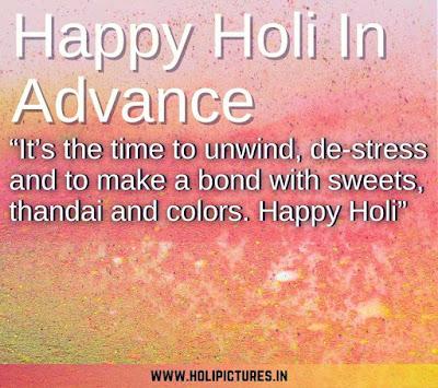 advance happy Holi HD images