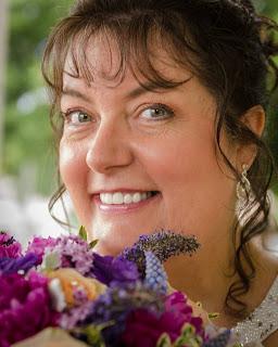 Annie Smith Pressed Flower Artist with Pressed Garden