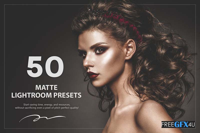 50 Matte Lightroom Presets