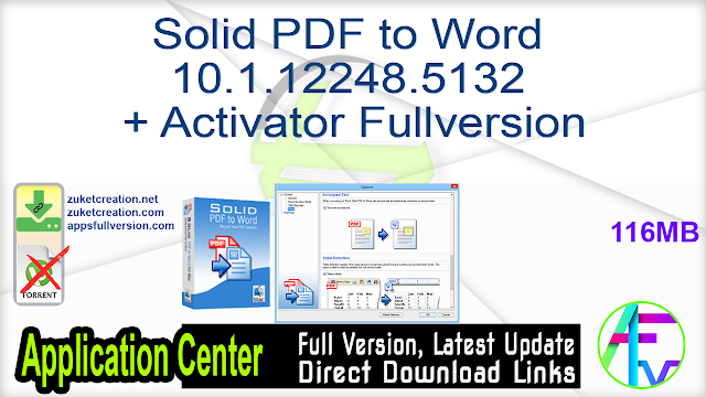 Solid PDF to Word 10.1.12248.5132 + Activator Fullversion