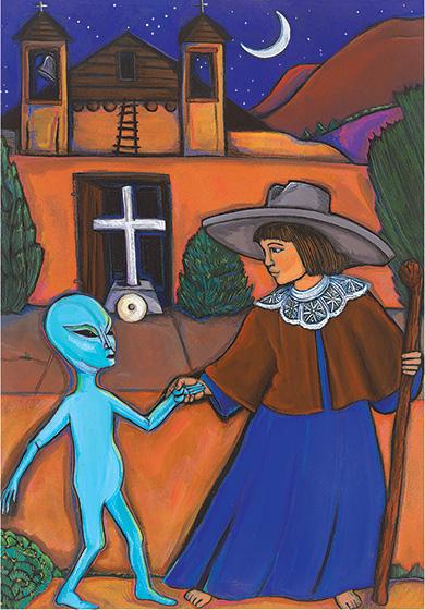 http://stevenboone.com/artwork/amy-cordova/mysterious_stranger.html