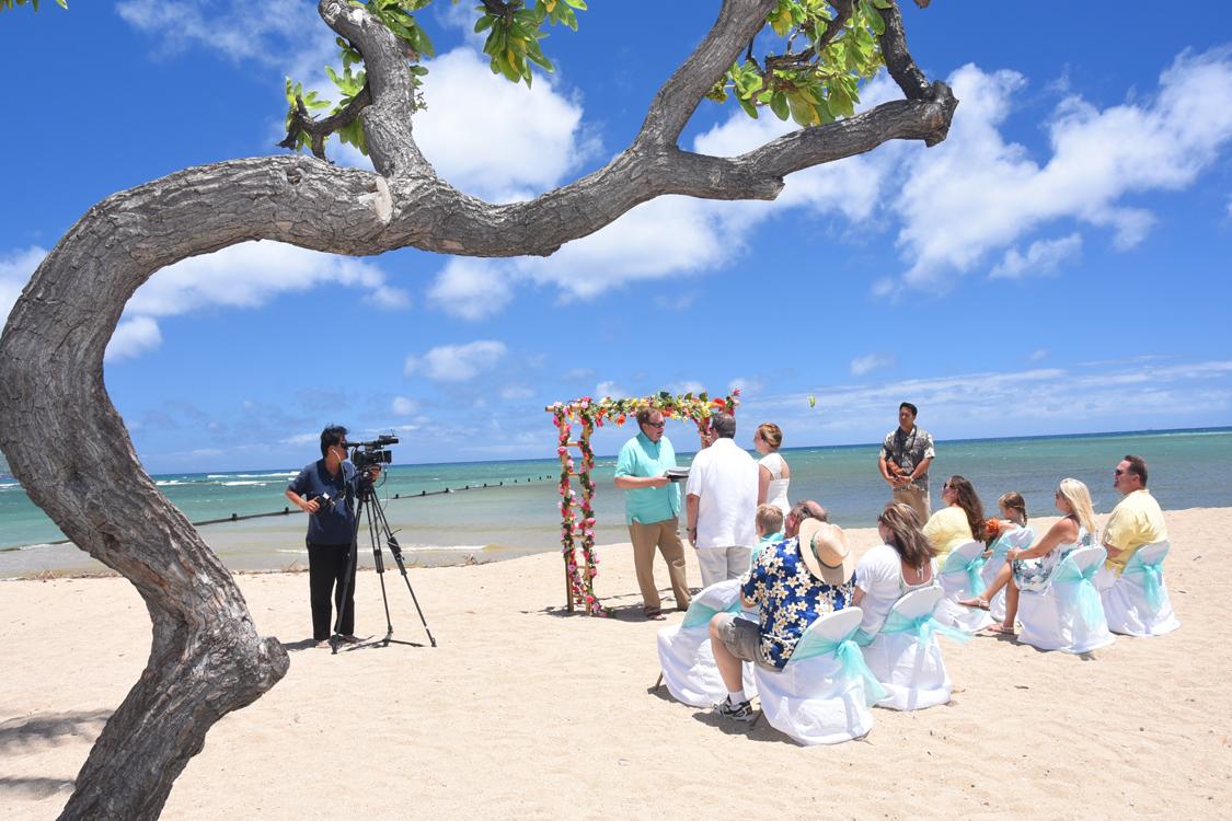 Beach Wedding Ceremony Oahu: Honolulu Weddings: August 2016