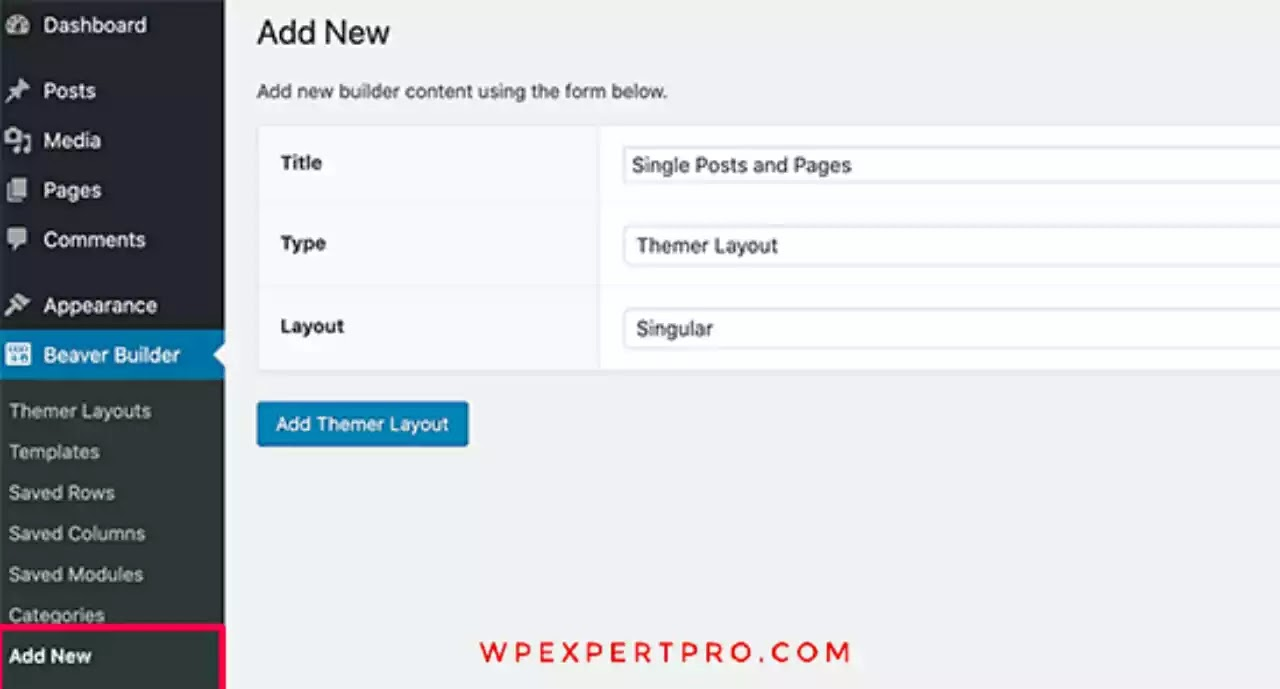 Create posts and pages