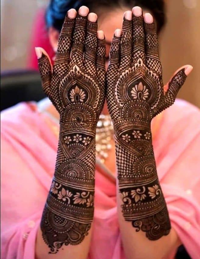 Mehndi Design For Bride Wedding
