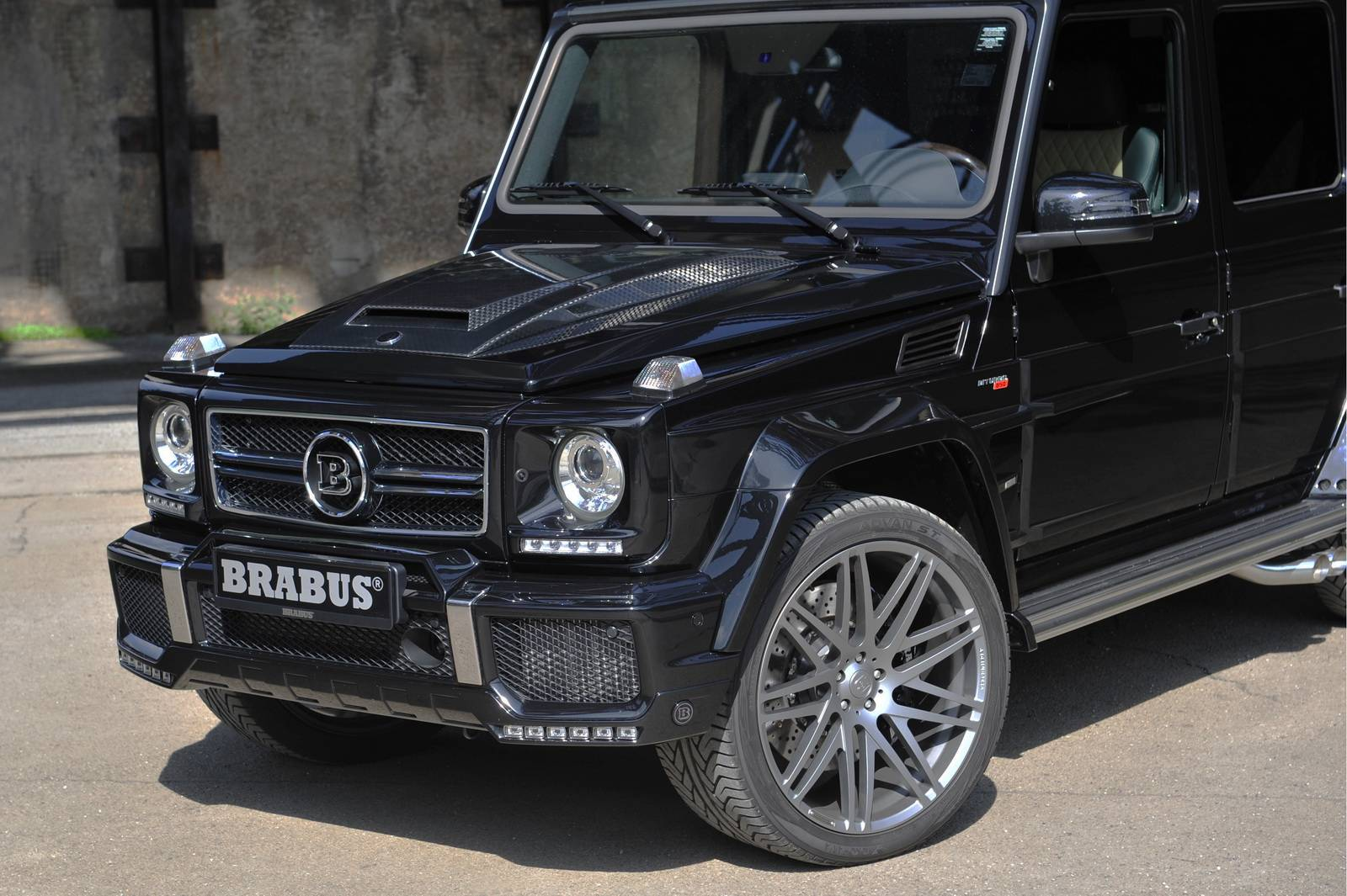 mercedes benz g63 brabus - photo #18