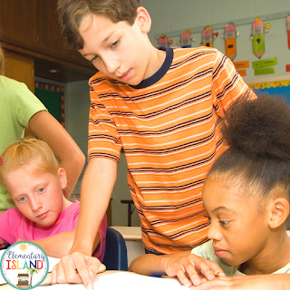 Don't be afraid to let older students help your younger students with reading, spelling, or math practice.