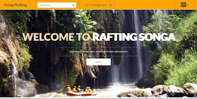 Website Rafting Songa