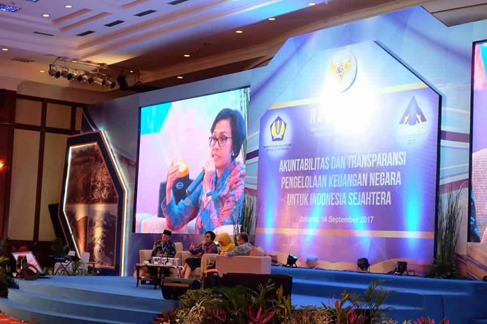 Bupati Rupinus Hadiri Rakernas Pelaporan Keuangan Negara di Jakarta