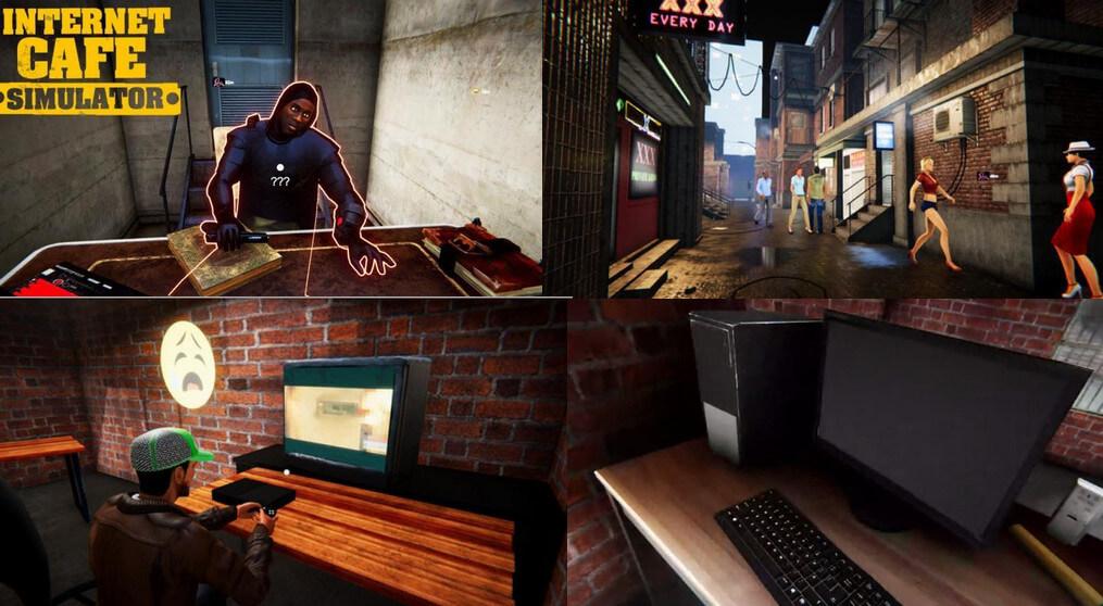 تحميل لعبة محاكي مقهى الالعاب للكمبيوتر مجانا بحجم صغير - Internet Cafe Simulator PC