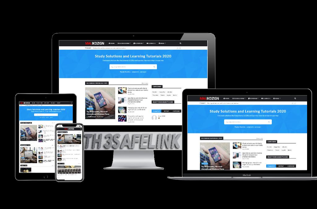 Viomagz Safelink V Stressthinking Responsive Blogger Template