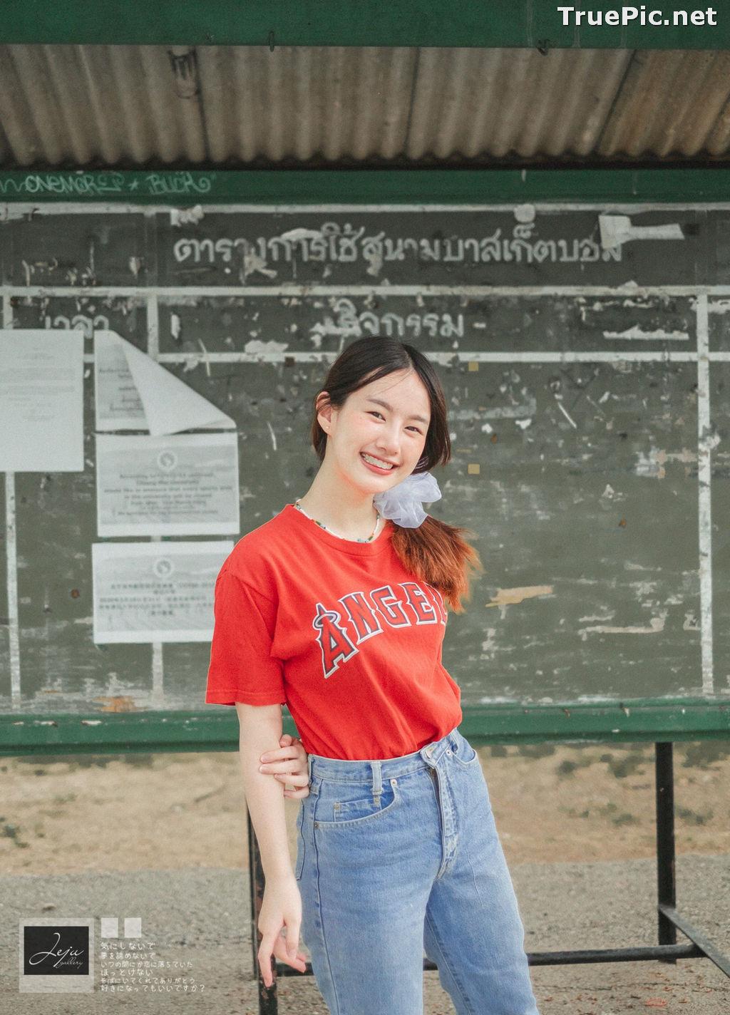 Image Thailand Cute Model - Fahfab Thunchanok - Red Angels - TruePic.net - Picture-6