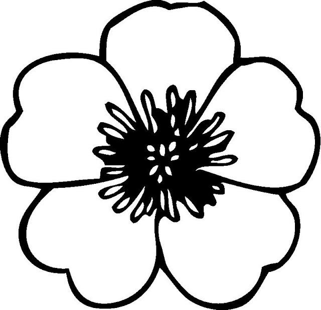 coloriage fleur enfant