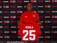 Alert Corona Virus, Ighalo Absent at Manchester United Training Camp