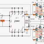 Sinewave Inverter Circuit Using Arduino