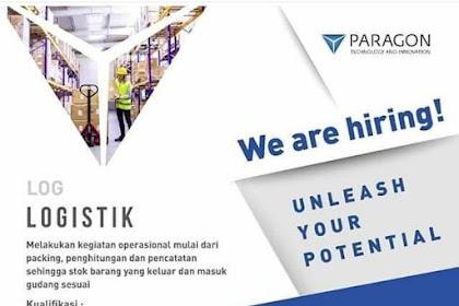 Info Lowongan Kerja Logistik Paragon Bogor