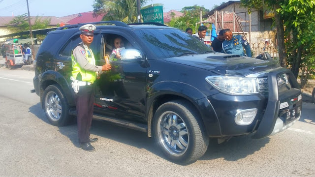 Sat Lantas Polres Tanjung Balai Tindak 11 Kesalahan Lalu Lintas di Kota Tanjung Balai