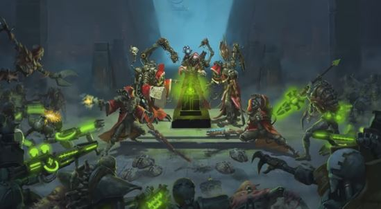 Adeptus Mechanicus Turn Based Tactical Game Announcement