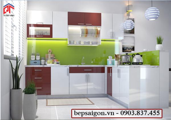 tủ bếp, tủ bếp, tủ bếp hiện đại, tủ bếp acrylic