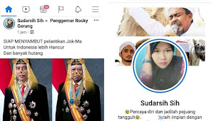Oknum Guru Ini Sebut Pelantikan Jokowi-Ma'ruf untuk Indonesia Lebih Hancur