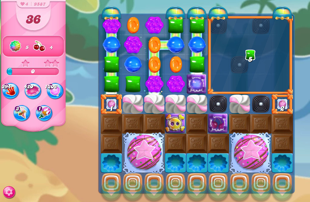 Candy Crush Saga level 9587